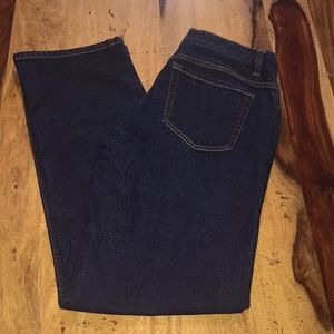 Eddie Bauer straight leg stretch jeans. Women's 8.